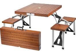 Wood Folding Table Plans Wooden Folding Picnic Table Facil Furniture