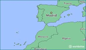 madrid spain map where is madrid spain where is madrid spain located in the