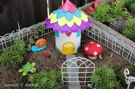 make your own garden houses decorations happiness is