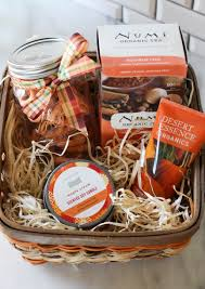 themed basket how to build a fall care gift basket for less than 25 with