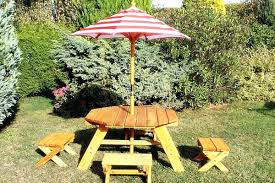 wood picnic table with detached benches images table design ideas