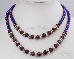 pearl beads necklace images 2018 fashion 7 8mm fresh water pearl beaded necklaces length 17 jpg