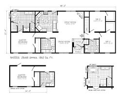 floor split ranch floor plans