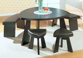 modern dining table with bench seats modern dining room sets black