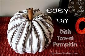 Fall Decor Diy - easy diy no sew fabric pumpkins for fall decor denna u0027s ideas