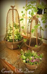 interior captivating image of wooden bird cage garden decor for