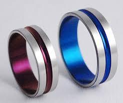 titanium wedding band sets titanium wedding band sets the pros and cons of titanium wedding