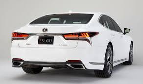 lexus f sport trunk badge 2018 ls 500 f sport