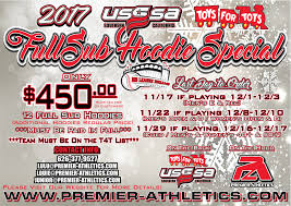socal usssa t4t hoodie special premier athletics custom sublimation