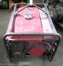 honda eb3500x generator item dg9261 sold february 1 veh