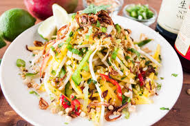la cuisine thailandaise and spicy mango salad kitchen big