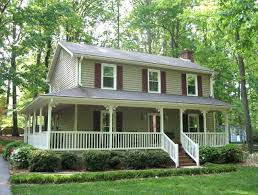 two house plans with wrap around porch 2 wrap around porch two farmhouse plans with wrap around