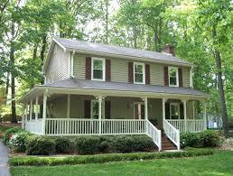 farmhouse with wrap around porch 2 wrap around porch two farmhouse plans with wrap around