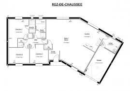plan de maison en v plain pied 4 chambres plan de maison plain pied 4 chambres en v avec etage newsindo co