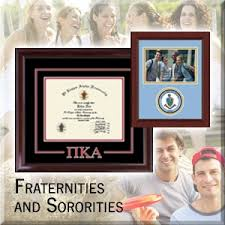 Sorority Picture Frame Greek Organization Frames Church Hill Classics