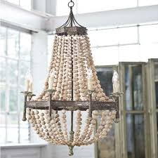 lighting project week with creative oyster shell chandelier