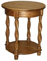 round oak end table oak end tables kitzuband com