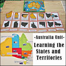 suzie u0027s home education ideas australia unit learning the states