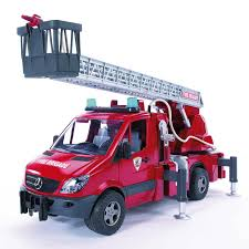 bruder fire truck bruder 02532 mb sprinter fire truck turnable ladder bruder