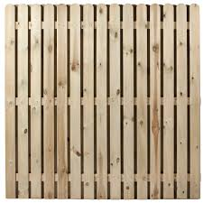 independent fencing privacy trellis panel 900 x 1800mm wood