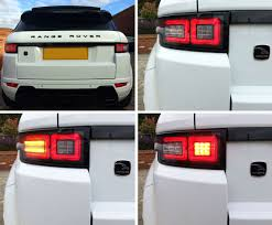 Now Available Range Rover Evoque Hawke 2014 Upgrade Led Tail Lights