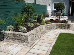 rock garden patio ideas lowes rocks inside inspiring small river