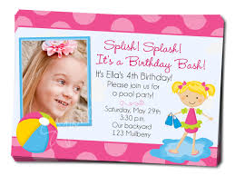 how to make pool party invitations pool party invitation wording dancemomsinfo com