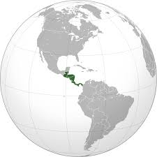 Central America Map And Capitals by Central America Wikipedia