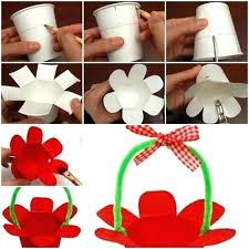 Paper Craft Steps - diy projects for step by step simple steps to make paper cup