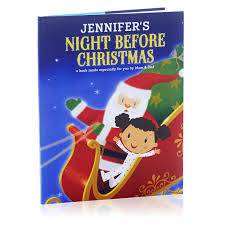 christmas personalized before christmas personalized book personalized books
