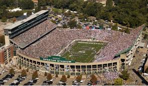 Michigan State Campus Map by Msu Preps For Friday Night Football Game Msutoday Michigan