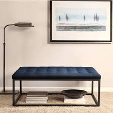 Navy Table L Navy Ottoman Coffee Table Writehookstudio