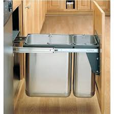 garbage can under the sink under sink garbage can under cabinet trash can vibrant design with