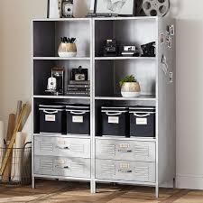 Silver Bookshelf Bookshelf Extraordinary Locker Bookshelf Locker Shelf