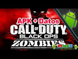 black ops zombies apk call of duty black ops zombies apk datos sd