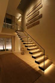 invest in stair safety by installing rope or light each