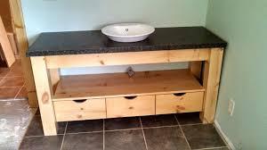 knotty pine bathroom vanity cabinets rustic cabin furniture benevola