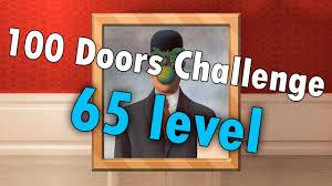 100 doors challenge level 65 walkthrough youtube