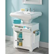 pedestal sink vanity cabinet sink pedestal sink vanity cabinet wrap underpedestal diy storage