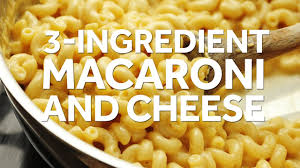 how to make 3 ingredient stovetop macaroni and cheese youtube