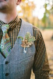 Wedding Boutonniere 35 Cool Woodland Wedding Boutonnieres Happywedd Com