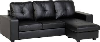 Black Leather Corner Sofa Decorate Your Home With Black Leather Corner Sofa