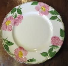roses china 1940 s salad plate in the desert pattern by franciscan china 3