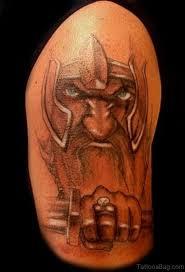 90 incredible viking shoulder tattoos