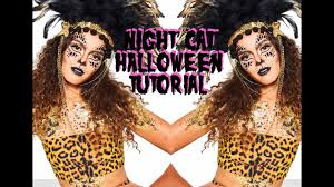 night cat halloween makeup tutorial the gypsy shrine youtube