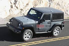jeep wrangler pickup black 2018 wrangler spied hints at upcoming jeep pickup photo u0026 image
