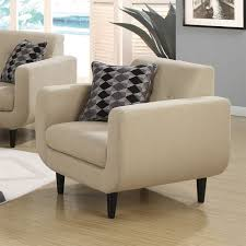 Ivory Accent Chair Coaster Stansall Modern Accent Chair In Ivory 505206
