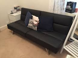 Click Clack Sofa Tenby Click Clack Sofabed In Black Asda In Kirkcaldy Fife