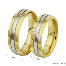 gold rings design for men high quality cz diamond rings for men women wedding