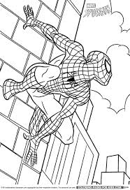 spider man coloring spider man